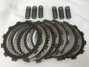 OEM Clutch plates and Springs. pulled out of street bike turn track bike at 3000 miles. $75 Shipped.