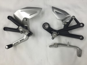 L&R OEM Rearsets with shifter or brake lever $125 per side shipped