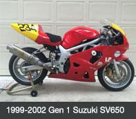 Gen 1 Suzuki SV650